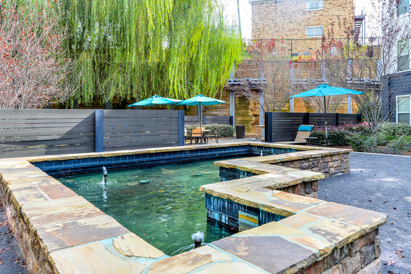 courtyard at Avana Westside Apartments