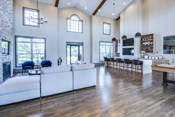 clubhouse at Retreat at Danada Farms Apartments
