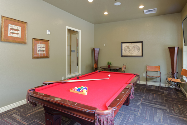 game room at Waterford at Peoria Apartments