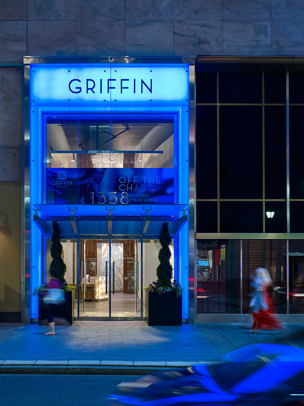 exterior at Griffin Center City Apartments