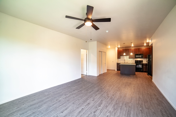 living room at Kapolei Lofts