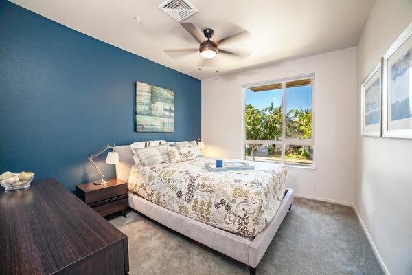 bedroom at at Kapolei Lofts