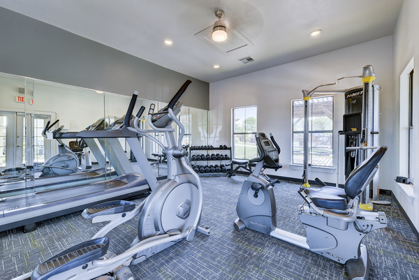 fitness center at Brynwood Apartments