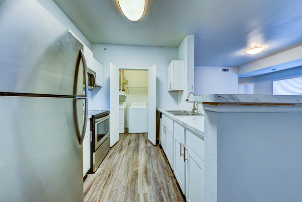 kitchen at Brynwood Apartments