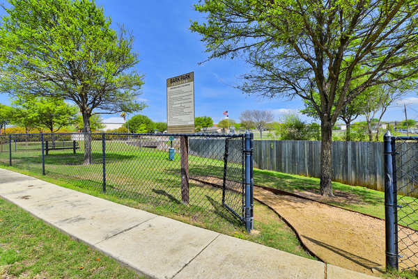 dog park at Brynwood Apartments
