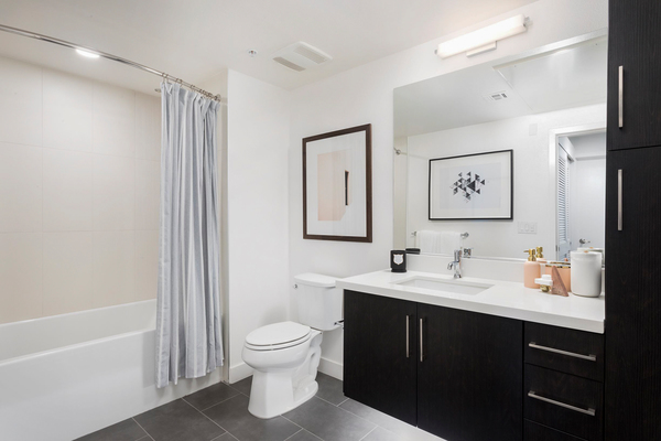 bathroom at Avila Apartments