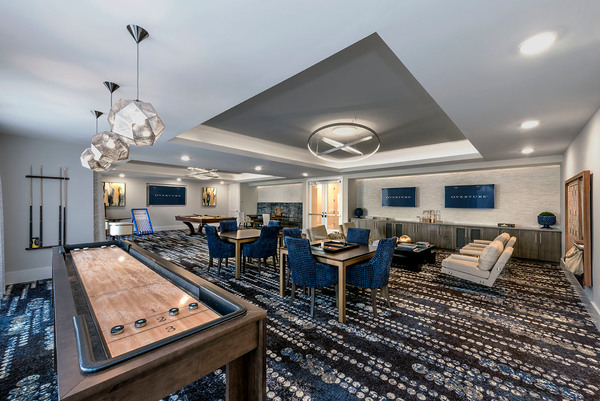 game room at Overture Cotswold