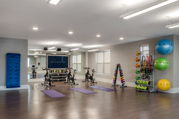 fitness center at Overture Cotswold