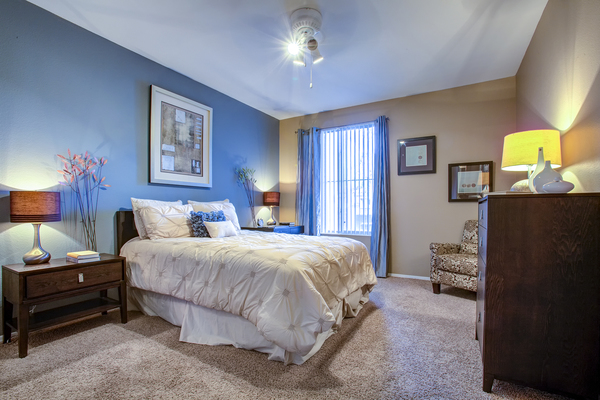 bedroom at Sierra Canyon Apartments
