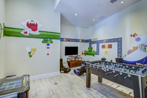 game room at The Quaye at Palm Beach Gardens Apartments