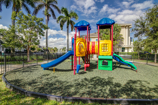 playground at The Quaye at Palm Beach Gardens Apartments
