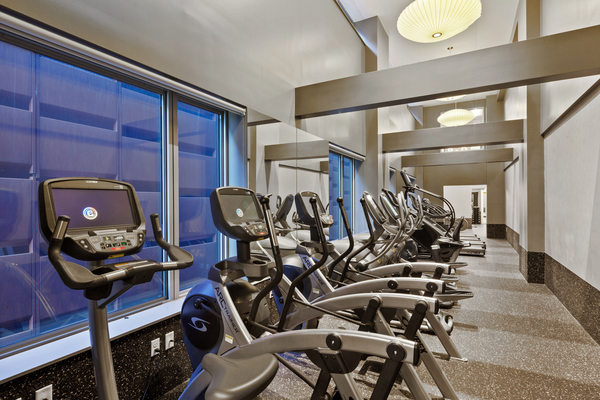 fitness center at 461 Dean Apartments