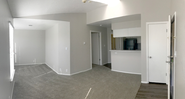 dining room at Spring Park Apartments