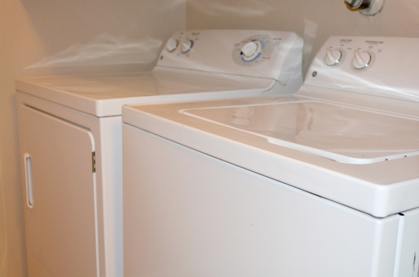 laundry room at Spring Park Apartments
