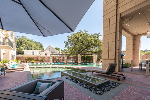 pool at The Carter Apartments