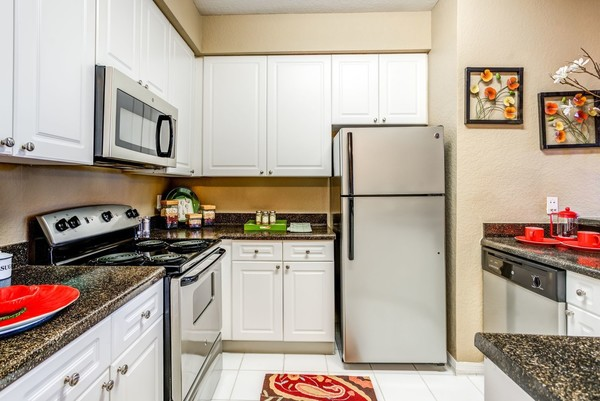 kitchen at Park Central Apartments - Belmont