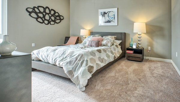 bedroom at Ridge at Robinson Apartments