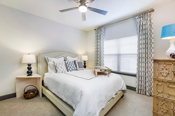 bedroom at Vinings of Hurstbourne Apartments