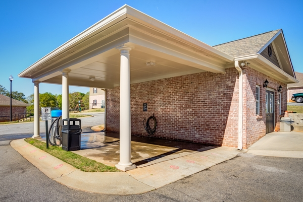 car care station at River Run Apartments