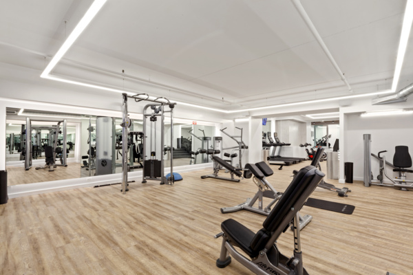 fitness center at The Chelsea