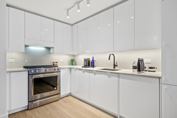kitchen at The Chelsea Apartments