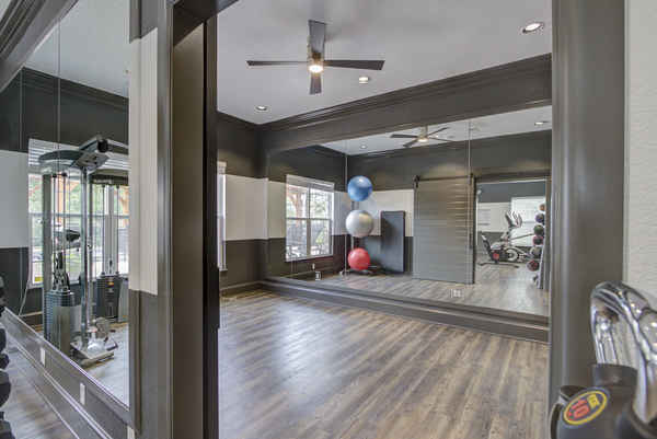 fitness center at Alvista Harmony