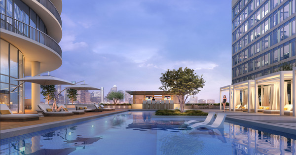 rendering at The Residences at Kirby Collection