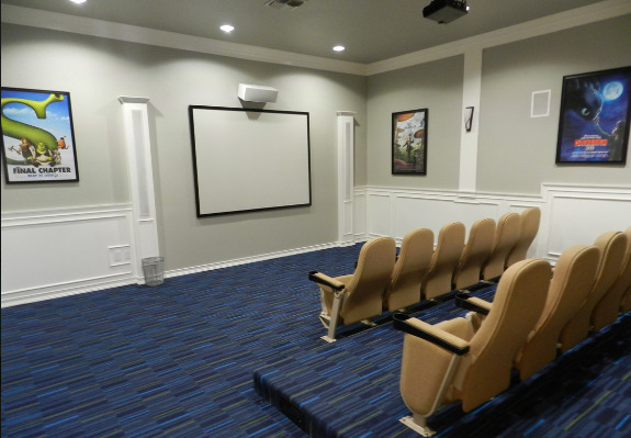 theater at Emerald Park Apartments