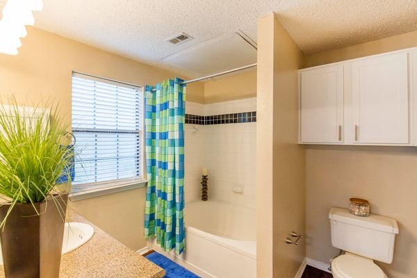 bathroom at Round Grove Apartments