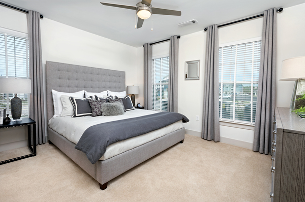 bedroom at Avia Apartments