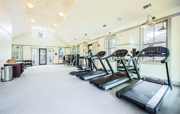 fitness center at Atlantic at Grand Oaks Apartments