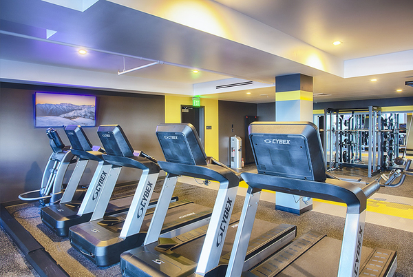 fitness Ccenter at SOVA on Grant Apartments