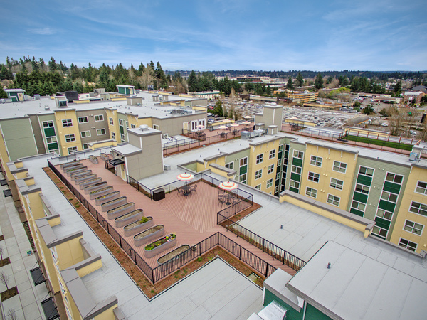 view at Destinations Lynnwood Apartments