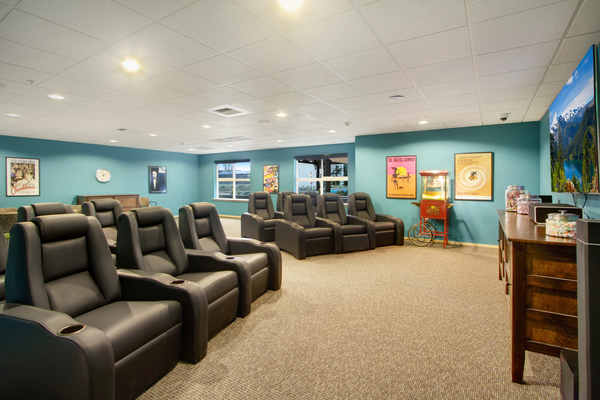 theater at Destinations Lynnwood Apartments