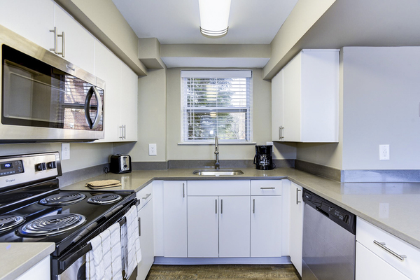kitchen at Village at Fox Point Apartments