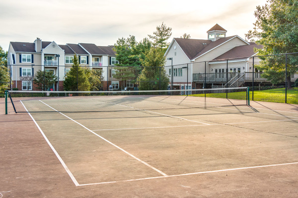 sport court at Assembly Alexandria Apartments