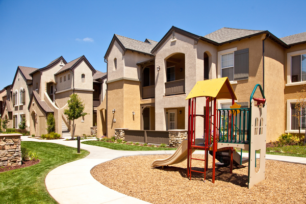 playground at St. Claire Apartment Homes