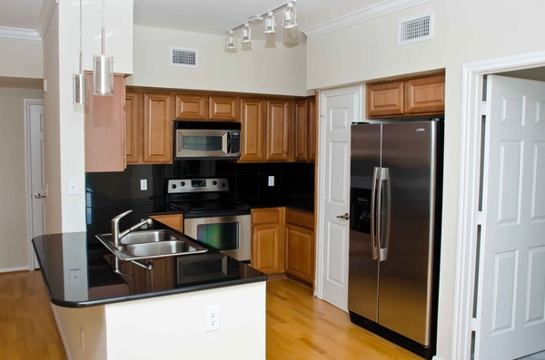 kitchen at Residences at Gramercy Apartments