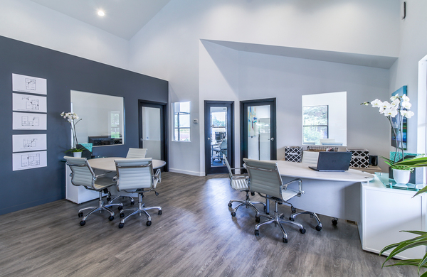 business leasing office at Alvista Falls Apartments