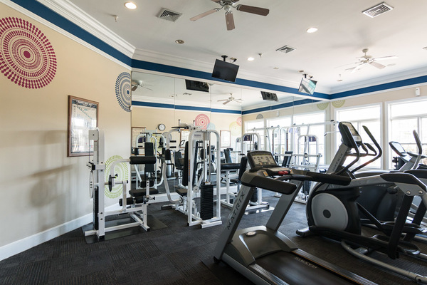 fitness center at Assembly Dulles Apartments