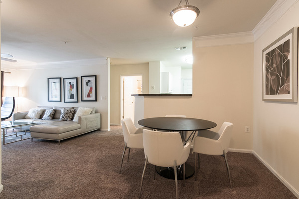 living room at Assembly Dulles Apartments