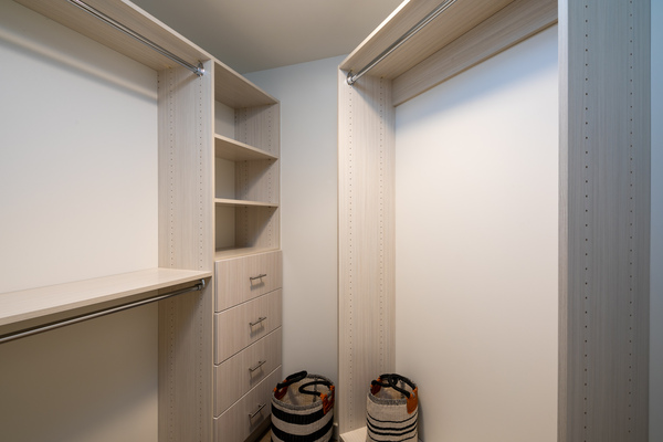 closet at Helm Apartments
