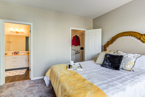 bedroom at Ascend St. Charles Apartments