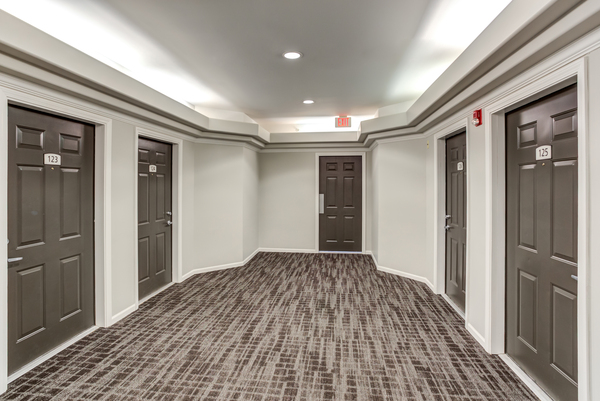 hallway at Ascend St. Charles Apartments