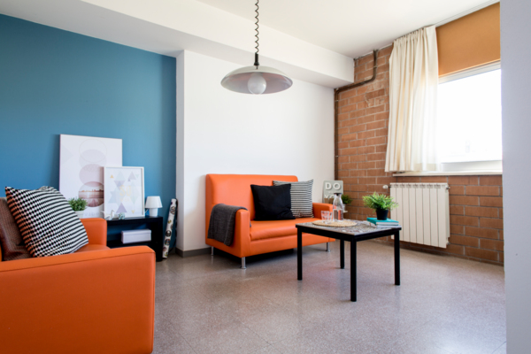living room at Campus de Montilivi Residence Hall
