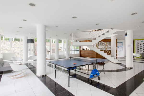 clubhouse at Siglo XXI Residence Hall