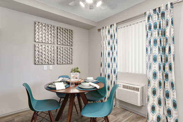 dining room at Point Bonita Apartments