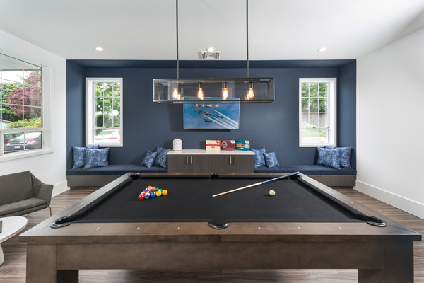 game room at 81 Fifty at West Hills Apartment Homes
