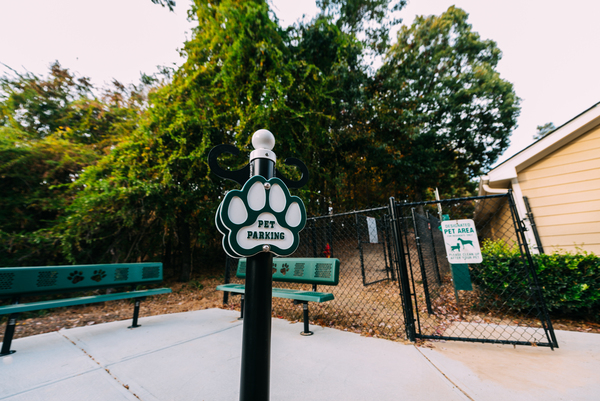 dog park at 1000 Spalding Apartments