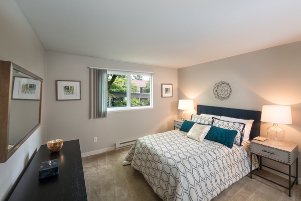bedroom at 81 Fifty at West Hills Apartment Homes